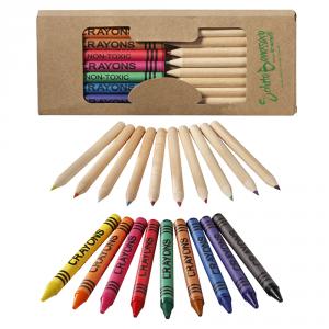 Set matite e pastelli a cera