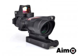 ACOG 4X32C SOURCE FIBER CON DOT RMR BK
