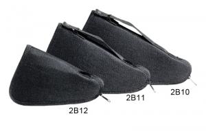 Borsetto triangolare porta pistola in cordura imbottita - cm 13 x 20