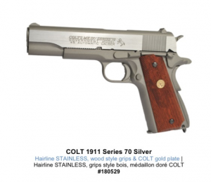 Colt M1911 MKIV Series 70 Co2 Blowback