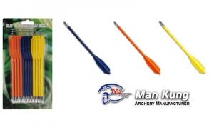 Confezione da 12 dardi in plastica  per pistola balestra
