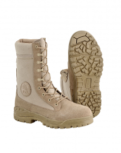 DEFCON 5 TACTICAL ARMY BOOTS TAN