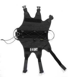 K 9 TIER ALPHA HARNESS BLACK