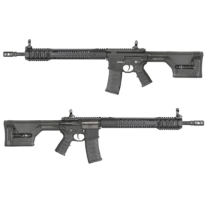 King Arms Black Rain Ordnance Rifle-PTS PRS stock-LE