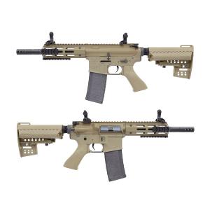 King Arms M4 TWS M-LOK CQB Ultra Grade II - DE