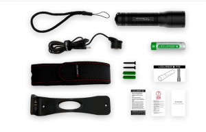 Torcia LED LENSER P7R + powerbank in omaggio