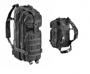 OPENLAND TACTICAL BACK PACK600D NYLON BK