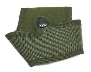 Porta manette aperto in cordura Verde