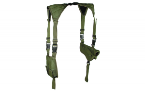 UTG LE Horizontal Shoulder Holster OD Green