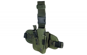 UTG Special Ops Tactical Thigh Holster, OD Green