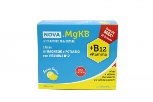Nova MgkB Integratore Magnesio Potassio e Vitamina B12