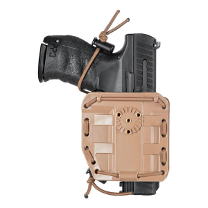 FONDINA UNIVERSALE BUNGY IN POLIMERO GOMMATO VEGA HOLSTER TAN