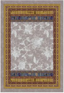 Bassetti Plaid Granfoulard 135x190 cm PONZA V.6 grigio Idea regalo