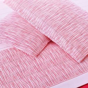 Set lenzuola matrimoniale 2 piazze Gabel flanella di cotone TALENT rosso