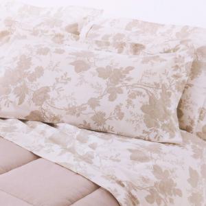 Set lenzuola matrimoniale 2 piazze Gabel flanella di cotone SOLEIL lino