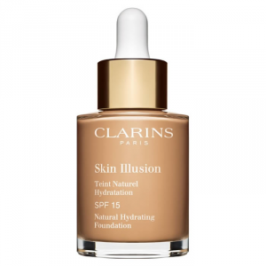 Clarins Skin Illusion Natural Hydrating Foundation Spf15 110 Honey 30ml
