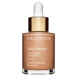 Clarins Skin Illusion Natural Hydrating Foundation Spf15 112 Amber 30ml