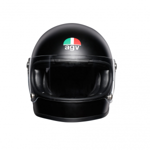 Casco integrale AGV Legends X3000 E2205 SOLID in fibra Nero opaco