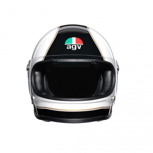 Casco integrale AGV Legends X3000 E2205 MULTI SUPER AGV in fibra Nero Bianco