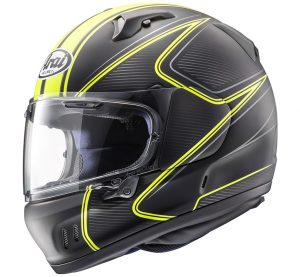 Casco integrale Arai RENEGADE-V DIABLO in fibra Giallo