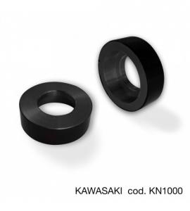 Coppia adattatore specchi a manubrio Barracuda per Kawasaki