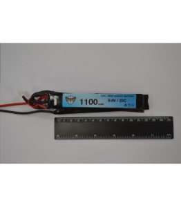 BLACK STORM 1100MAH LI-FE 9.9V 20C TRIPLE 7.0 X 21.0 X 126.0MM (EACH)