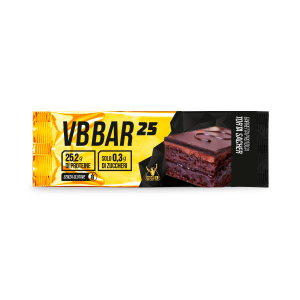 VB BAR 25 gusto SACHER - Barrette Proteiche Low Carb - confezione da 24 barrette
