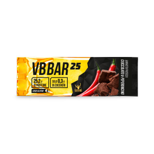 VB BAR 25 gusto CIOCCO/PEPERONCINO - Barrette Proteiche Low Carb