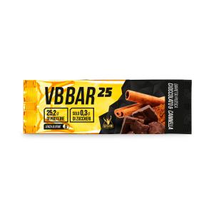 VB BAR 25 gusto CIOCCO/CANNELLA - Barrette Proteiche Low Carb