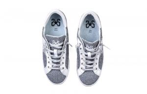 Sneaker donna 2 star low glitterato
