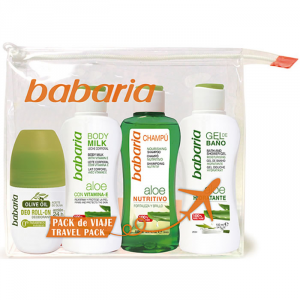 Babaria Aloe Shampoo Nutritivo 100ml Set 4 Pieces 2018