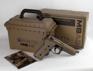 Beretta M9A3-M9A1 9x21mm IMI