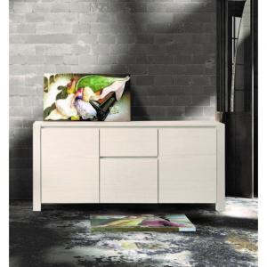 Credenza Abete Bianco Spazzolato 185x50 cm H 84 cm