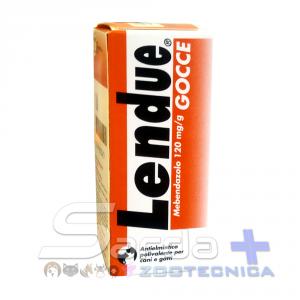 LENDUE GOCCE 120 mg/g -  contro i parassiti nel cane e gatto