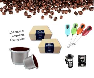 100 capsule compatibili Uno System