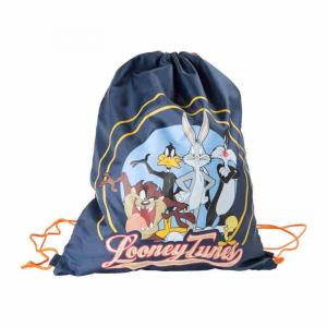 Sacca per asilo scuola piscina palestra Looney Tunes Warner Bros bambini
