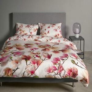 Set copripiumino matrimoniale ESSENZA HOME Magnolia rosa