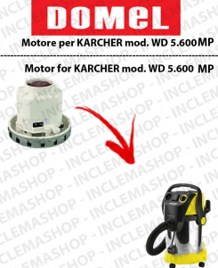 WD 5.600 MP MOTORE ASPIRAZIONE DOMEL per aspirapolvere KARCHER