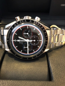 Orologio secondo polso Omega Speedmaster Professional Moonwatch Apollo15 40th Anniversary