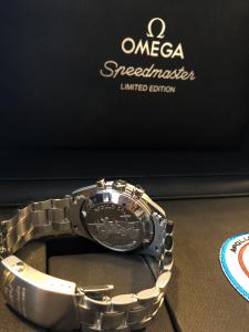 Orologio secondo polso Omega Speedmaster Professional Moonwatch Apollo15 40th Anniversary