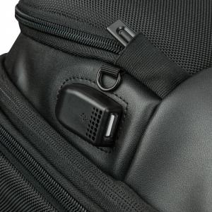 Delsey - Quarterback Premium - Zaino espandibile 2 scomparti protezione pc 13.3