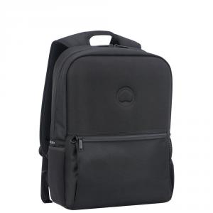 Delsey - Laumiere - Zaino 2 scomparti protezione pc 15.6 nero cod. 2193600