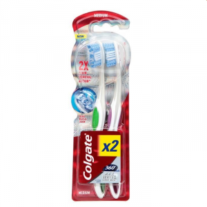 Colgate Expert White 360 Medium 2 Unità