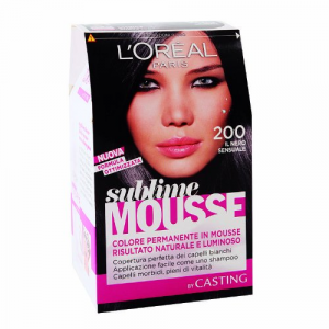 Loreal Paris - Permanent color Sublime Mousse - NERO 200