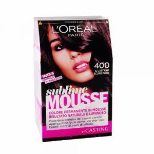 Loreal Paris - Permanent color Sublime Mousse -IL Castano scuro puro 400