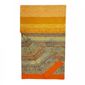 Bassetti Granfoulard telo arredo MONTALCINO v.9 arancio puro cotone - 270x270 cm