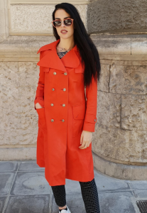 IMPERMEABILE TRENCH VINTAGE '80 DONNA Cod.8-54