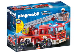PLAYMOBIL AUTOSCALA DEI VIGILI DEL FUOCO 9463