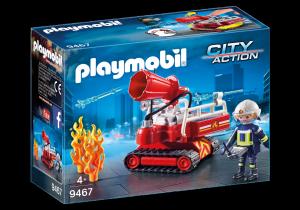 PLAYMOBIL ROBOT DEI VIGILI DEL FUOCO 9467