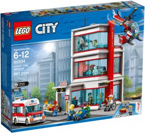 LEGO OSPEDALE DI LEGO CITY 60204